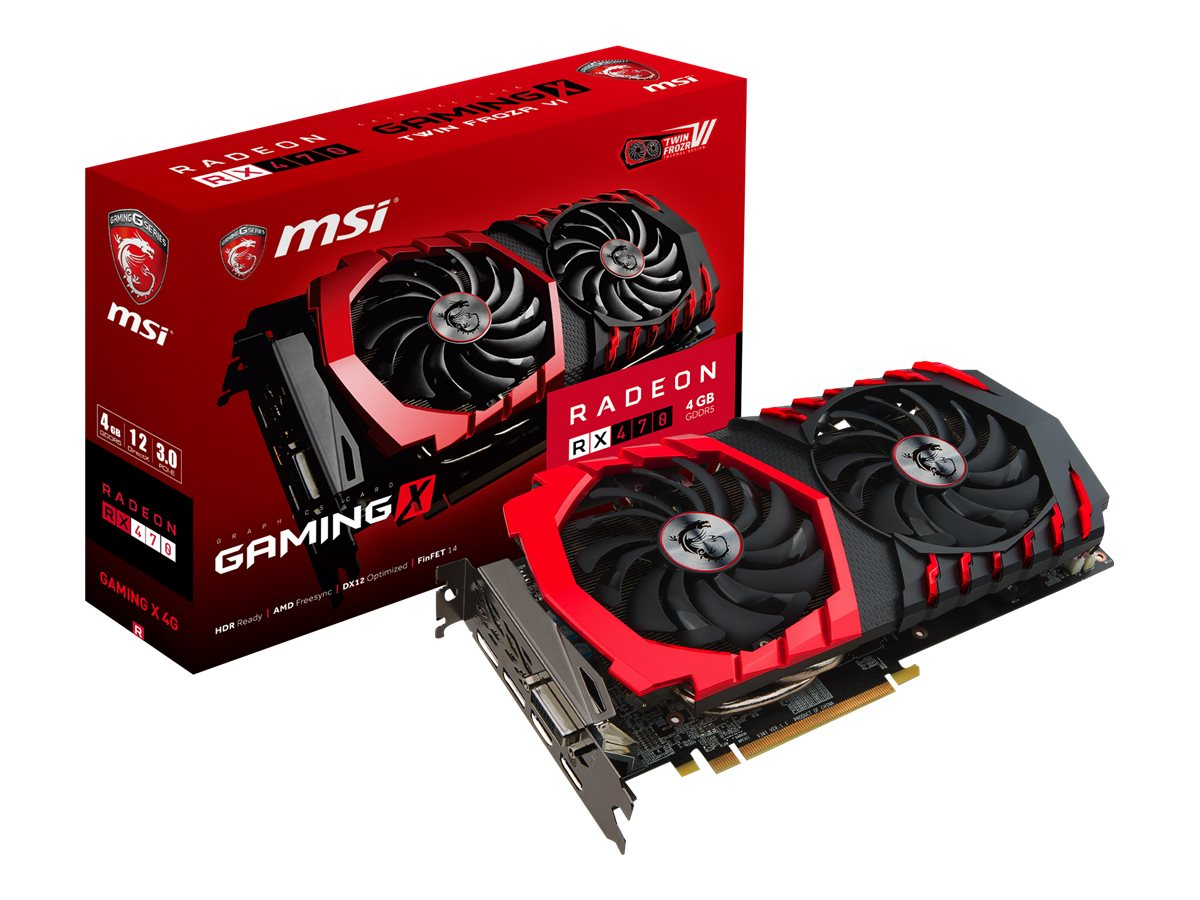 Microstar RX 470 GAMING X 4G Image 4
