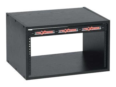 Chief Manufacturing 6U Economy Rack, Black Laminate