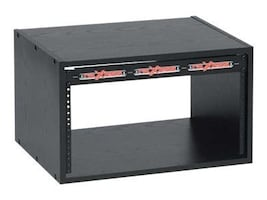 Chief Manufacturing 6U Economy Rack, Black Laminate, ER-6, 17435158, Racks & Cabinets