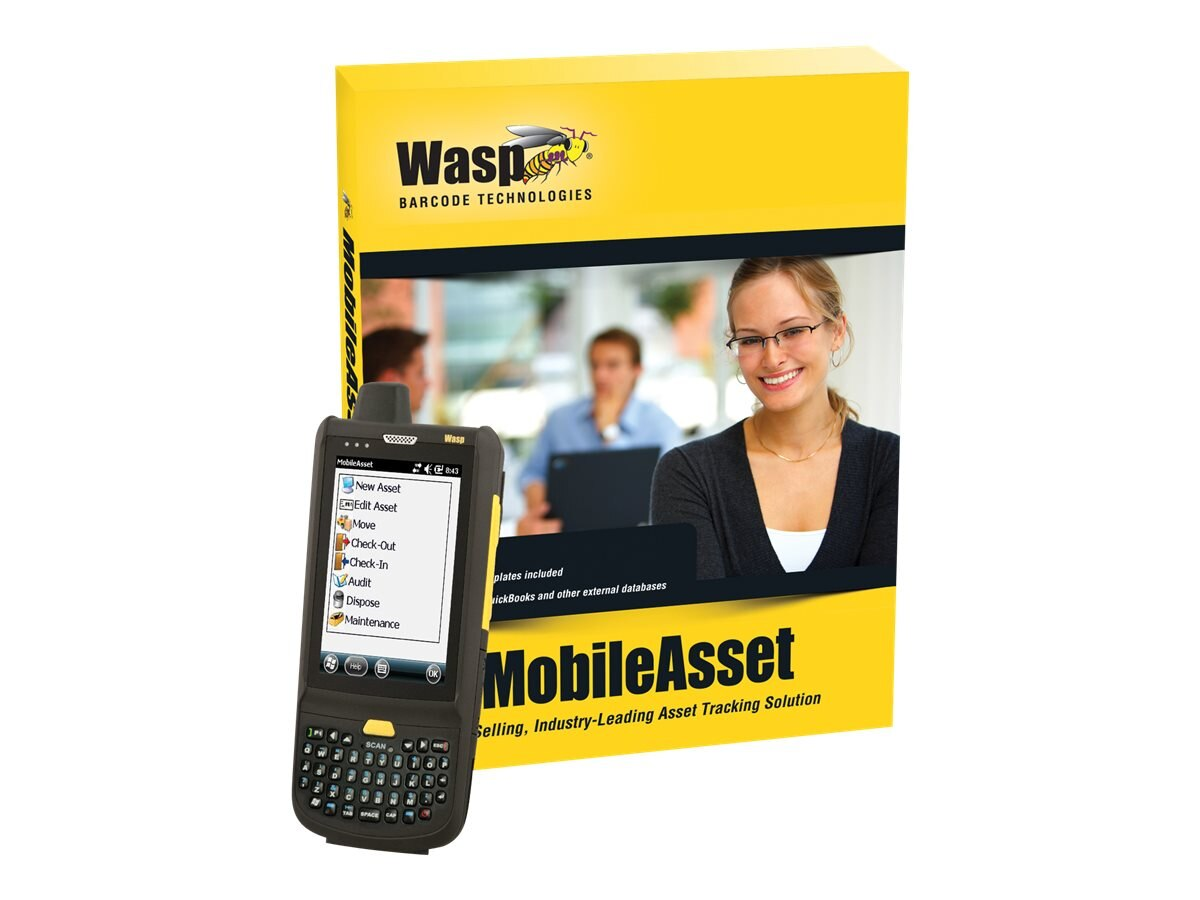 Wasp MobileAsset Enterprise with HC1 (unlimited-user), 633808927851