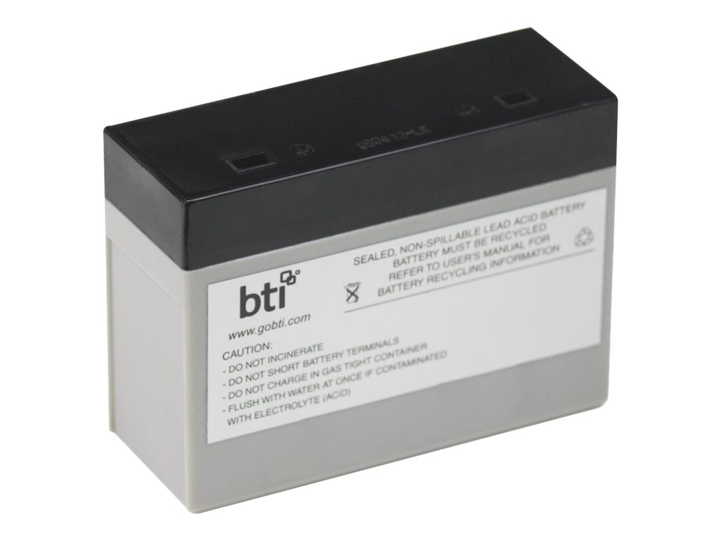 BTI Replacement Battery, RBC21 for APC BF500 Models, RBC21-SLA21-BTI, 7149107, Batteries - Other