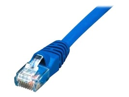 Comprehensive Cat5e Snagless Patch Cable, Snagless, Blue, 50ft, CAT5-350-50BLU, 15786552, Cables