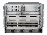 Brocade VDX 8770 4 I O slot Chassis w 3 Switch Fabric Modules, and 2 3000W DC power supply unit, BR-VDX8770-4-BND-DC, 17389243, Network Switches