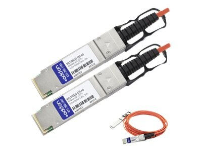 ACP-EP 40GBASE QSFP+ Active Optical Cable, 10m, MC2206310-010-AO