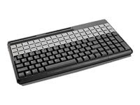 Cherry SPOS 135-Key USB LT Grey 14 Keyboard 3-Track MSR US 135-Prog 54-Rel, G86-61410EUAEAA, 6255573, Keyboards & Keypads