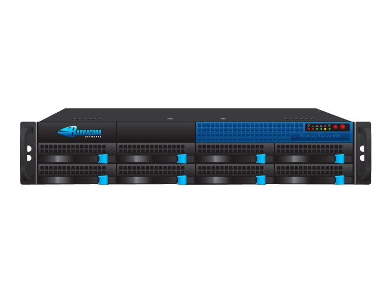 Barracuda Backup Server 890 w 10 GBE Copper NIC & 3-year EU+IR