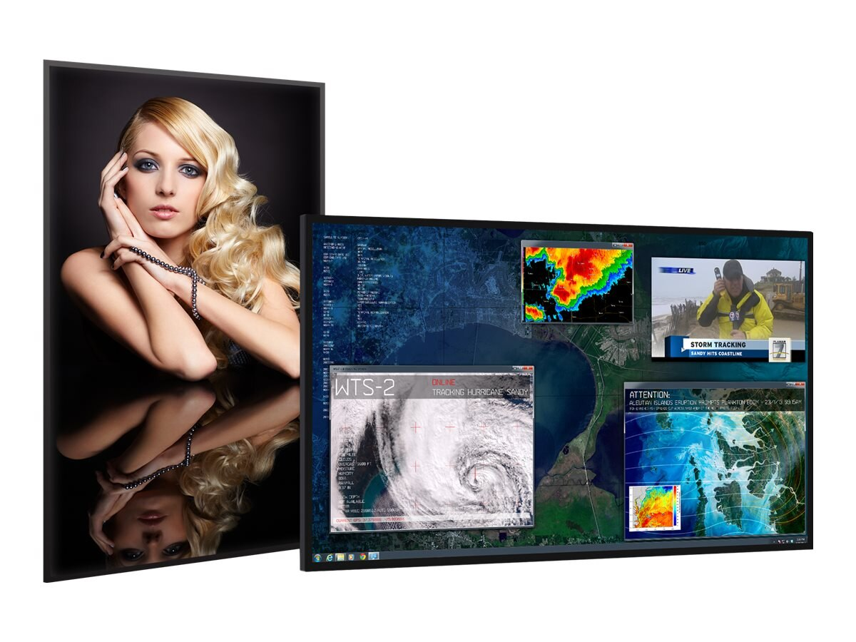 Planar 84 UR8450-LX 4K Ultra HD LED-LCD Display with ERO Glass, Black, 997-7972-00