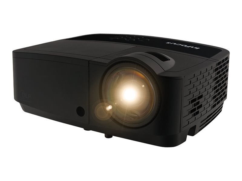 InFocus IN128HDSTX 1080p 3D DLP Projector, 3500 Lumens, Black, IN128HDSTX, 31663958, Projectors