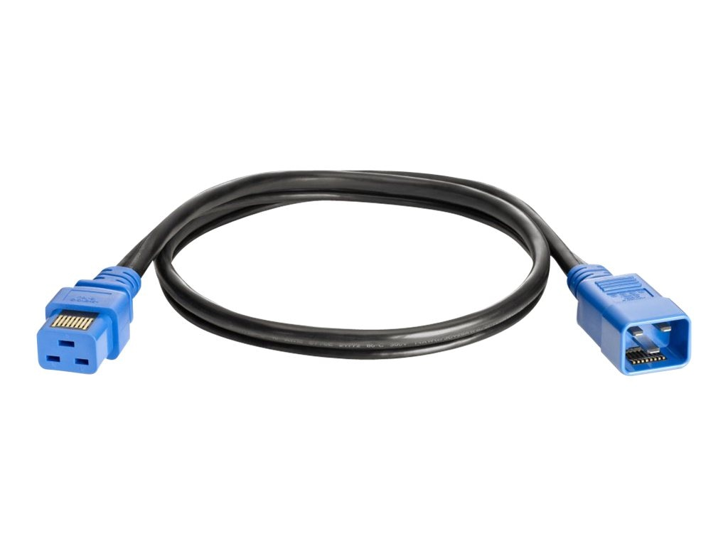 HPE 2.5m 250V 16A C19-C20 WW Single IPD Enabled Jumper Cord