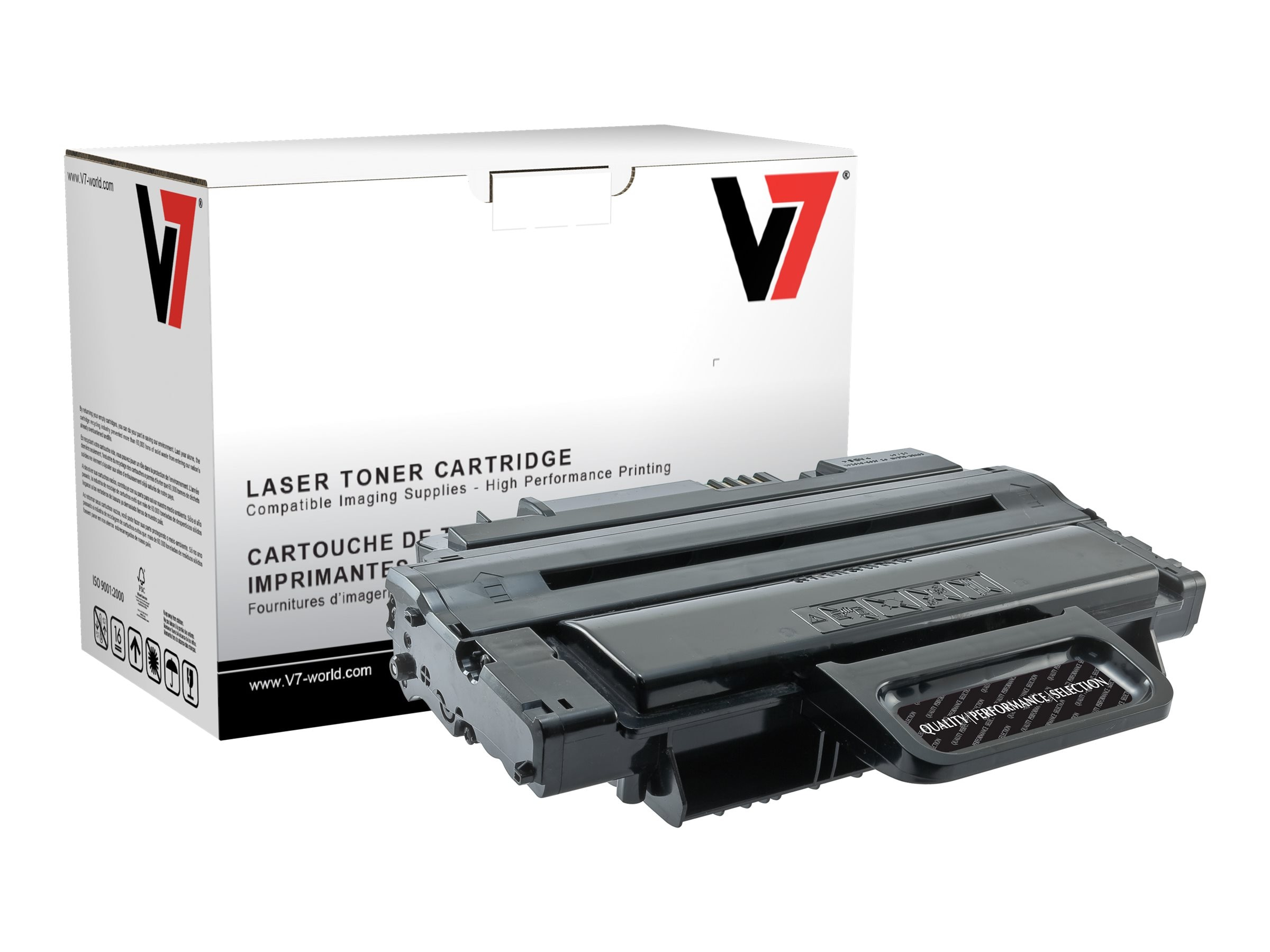 V7 MLT-D208L Black Toner Cartridge for Samsung SCX-5635FN (TAA Compliant)