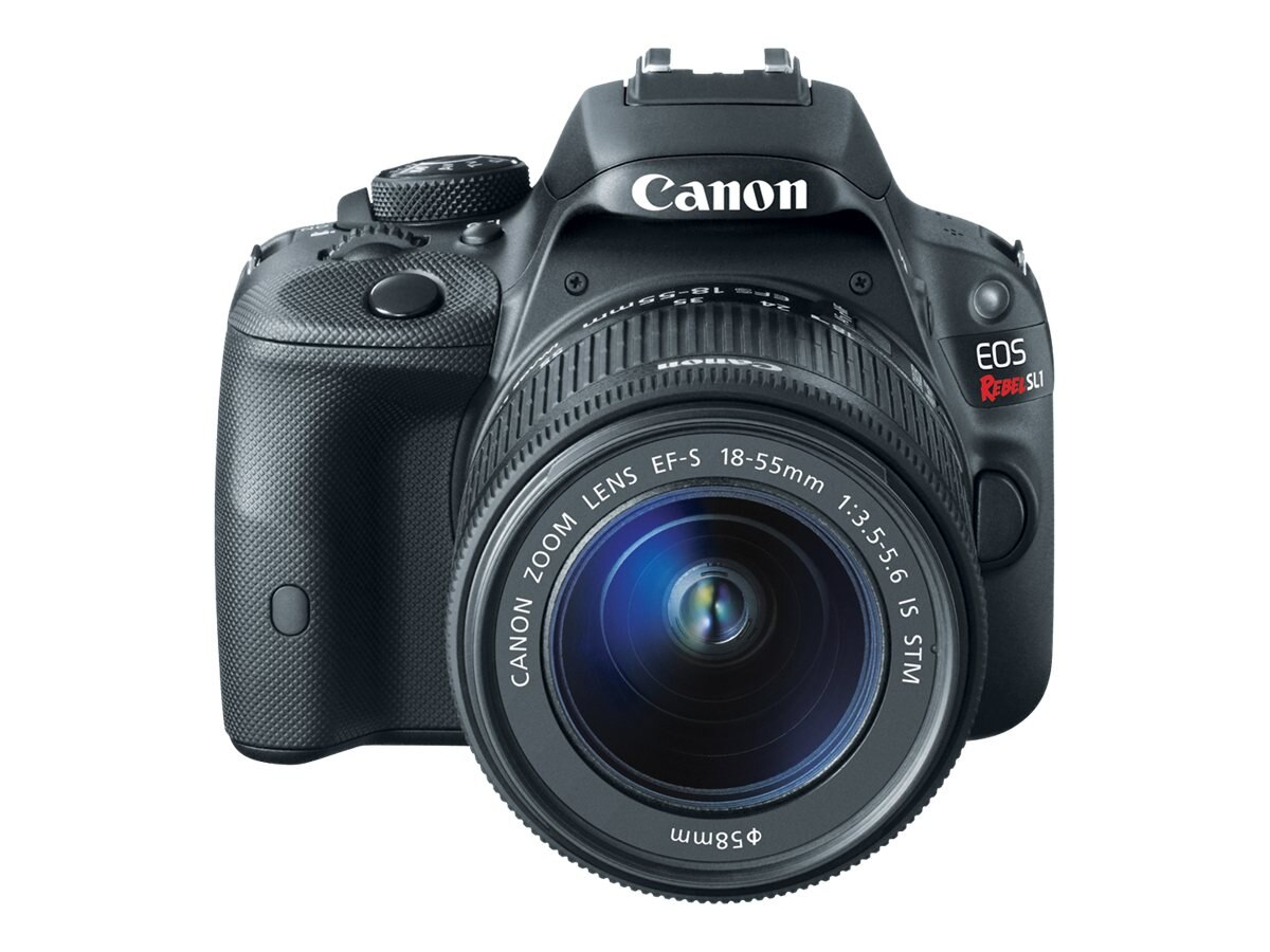 Canon EOS Rebel SL1 Digital SLR with EF-S 18-55mm IS STM Kit, 8575B003