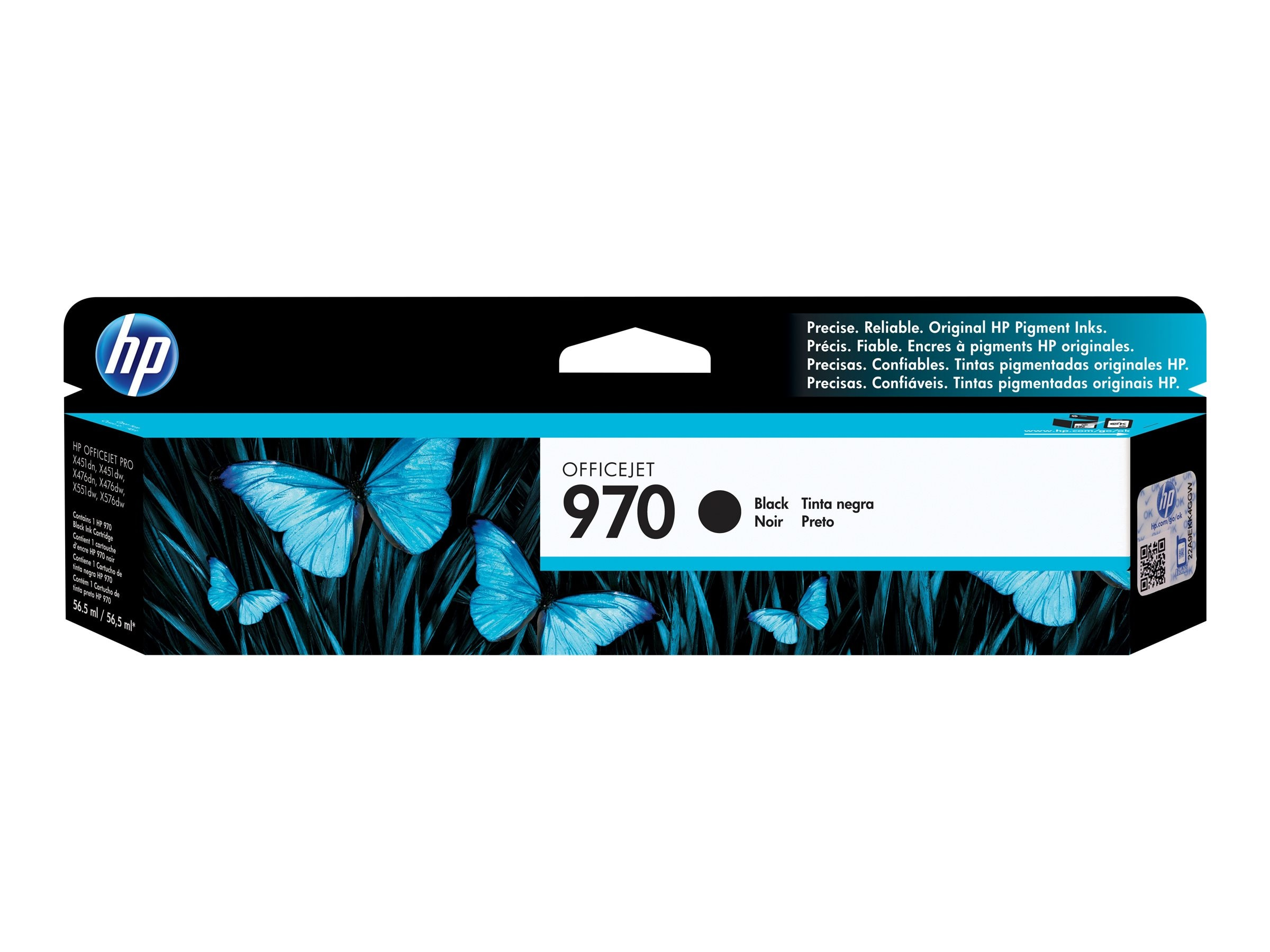 HP 970 (CN621AM) Black Original Ink Cartridge