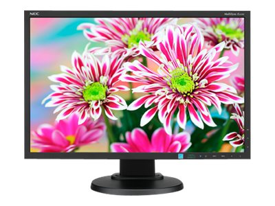 NEC 22 E223W-BK LED-LCD Monitor, Black, E223W-BK, 15681734, Monitors - LED-LCD