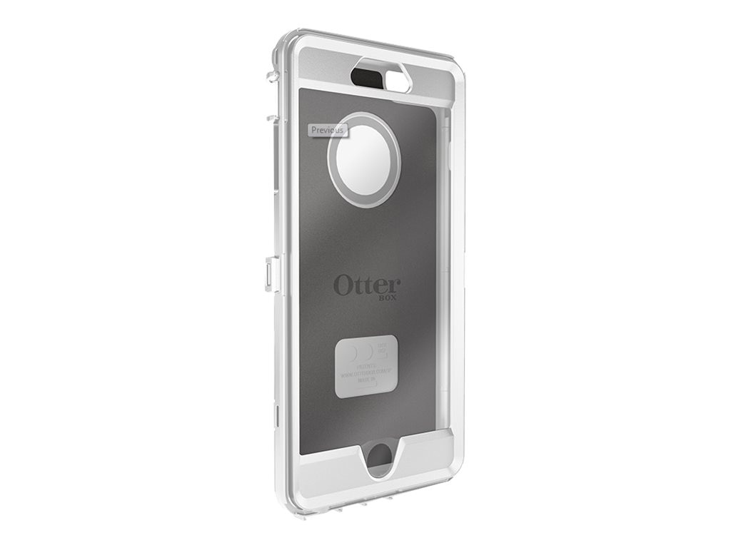 OtterBox Defender Series Shell for iPhone 6 Plus, White, 78-50058, 18622625, Carrying Cases - Phones/PDAs