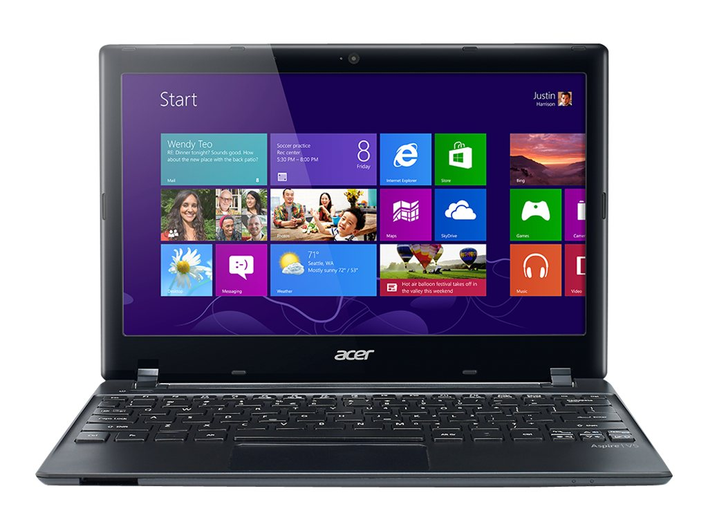 Acer Aspire V5-131-2680 Celeron 1007U 1.6GHz 4GB 500GB abgn NIC BT WC 6C 11.6 HD W7HP64, NX.M89AA.009