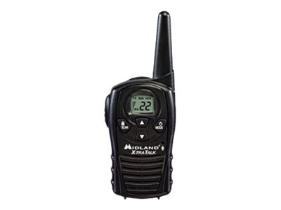 Midland Radio GMRS 2-Way Radio, 22-Channels, 18-Mile, LXT118