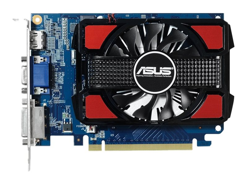 Asus GeForce GT730 PCIe Graphics Card, 2GB DDR3, GT730-2GD3