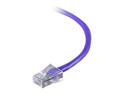Belkin CAT5E UTP Patch Cable, Purple, 10ft, A3L791-12-PUR