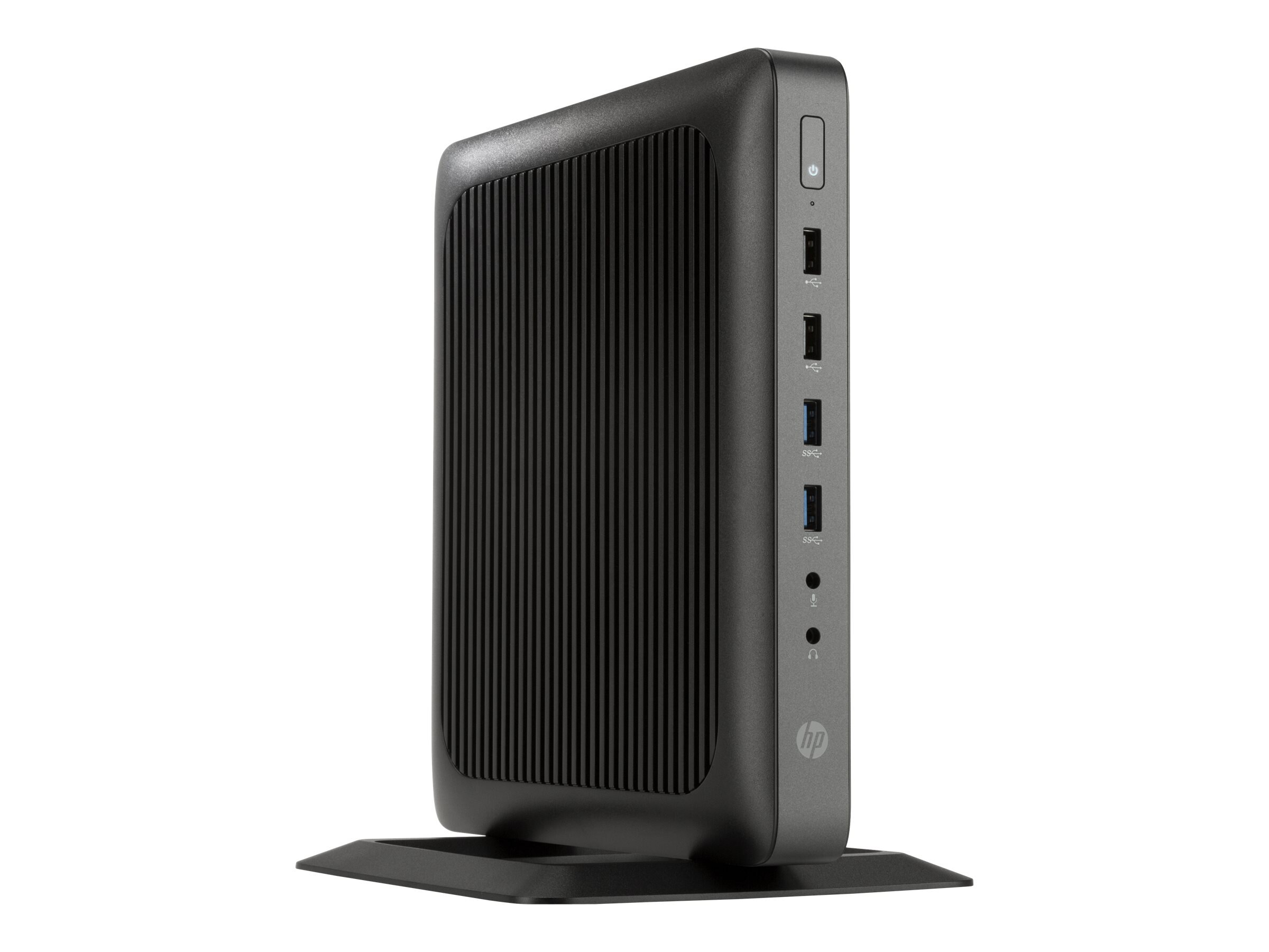 HP t620 Flexible Thin Client AMD QC GX-415GA 1.5GHz 8GB 64GB Flash HD8330E ac BT VGA W10 IoT, V2V58UT#ABA