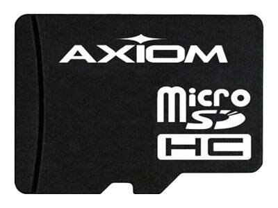 Axiom 8GB Micro SDHC Flash Memory Card, Class 10, MSDHC10/8GB-AX, 15150386, Memory - Flash