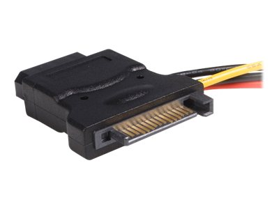 StarTech.com SATA to LP4 15-pin Power Adapter Cable with (2) LP4, 6, LP4SATAFM2L