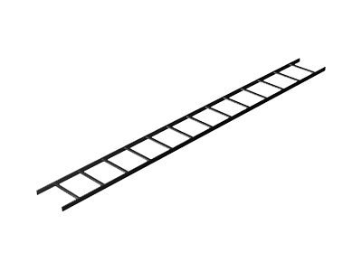 Middle Atlantic Cable Ladder, 6ft x 12, Black, 1P