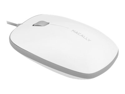 Macally USB Wired Optical Mouse, BUMPERMOUSE