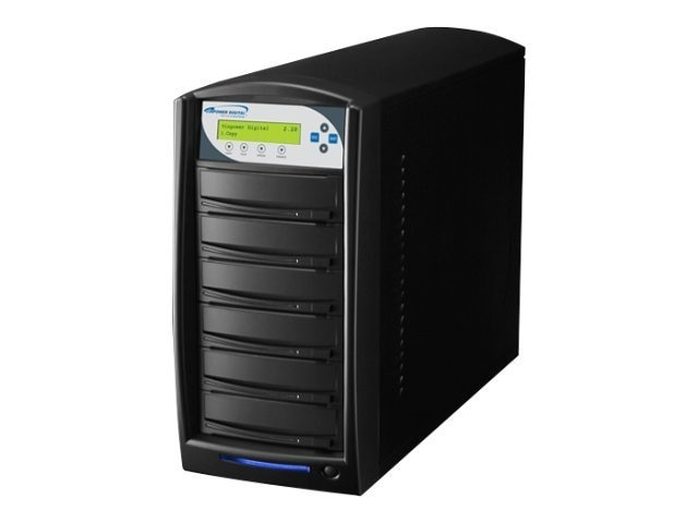 Vinpower Karaoke 1:5 CD+G CD DVD 250GB Duplicator, KARAOKE-S5T-BK, 15126319, Disc Duplicators