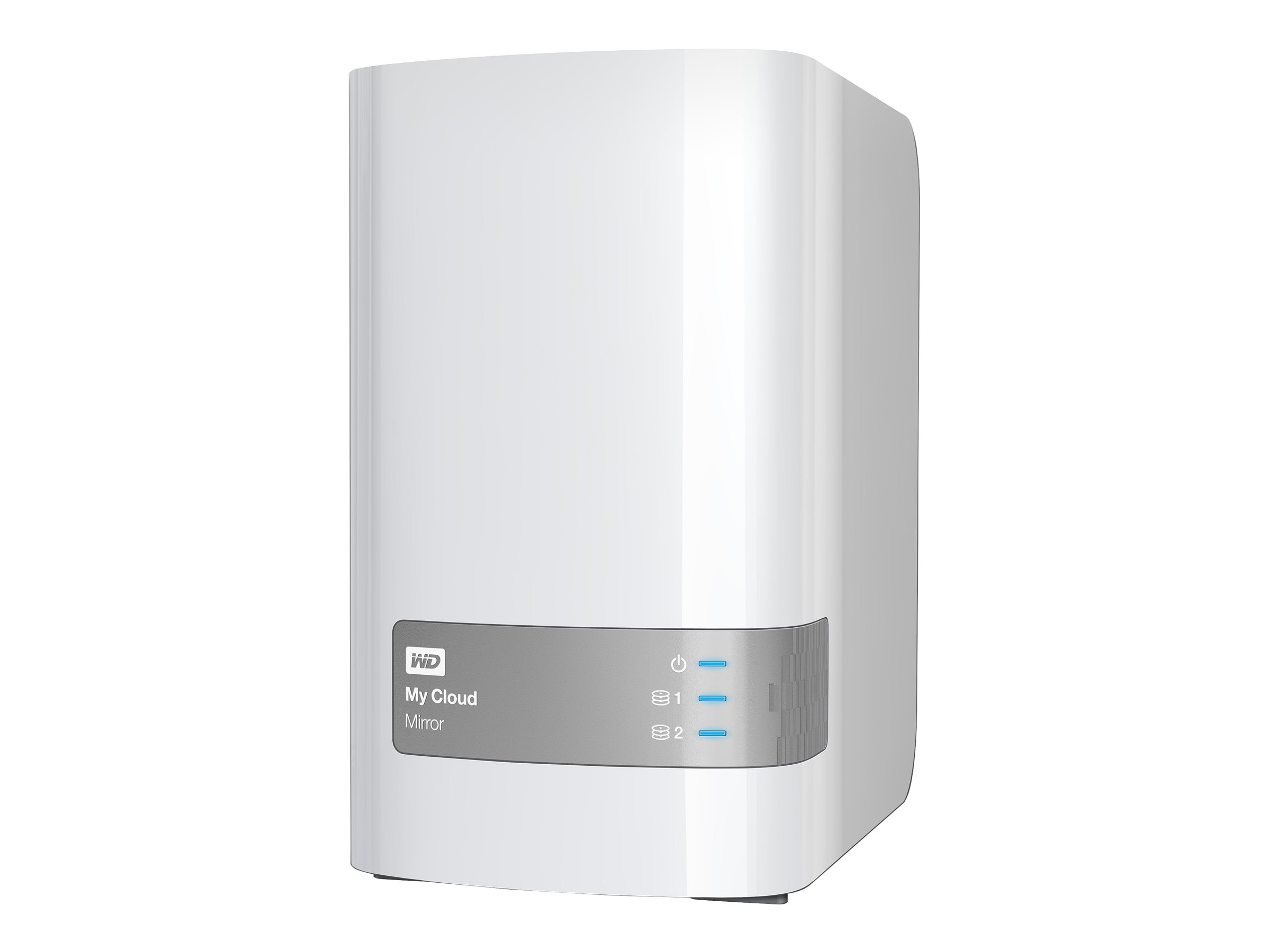 WD 10TB My Cloud Mirror Personal Cloud Storage, WDBZVM0100JWT-NESN, 17841818, Network Attached Storage
