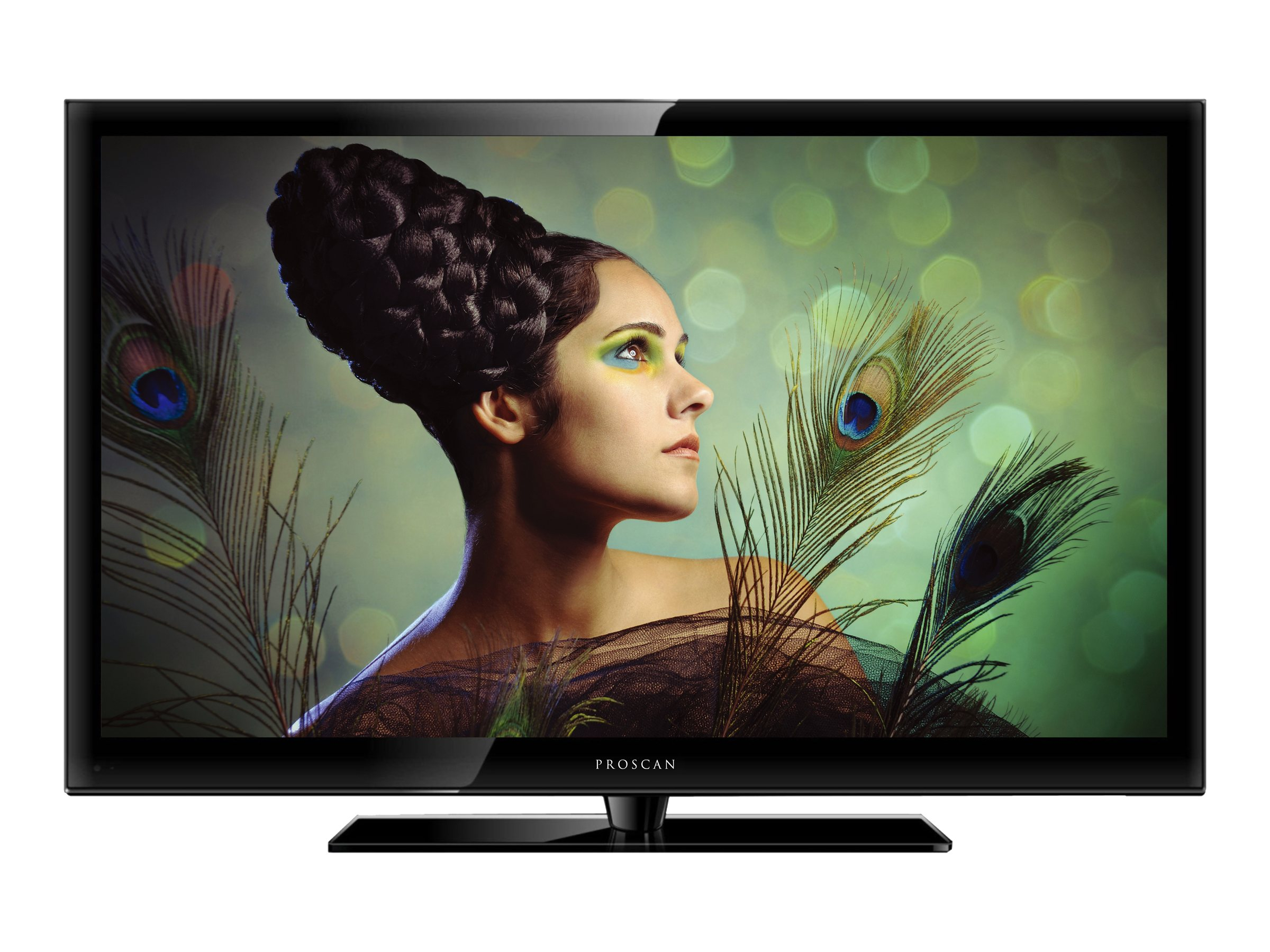 Proscan 32 PLDV321300 LED-LCD TV, Black with DVD Player