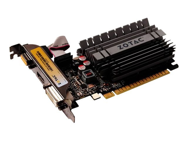 Zotac GeForce GT 730 PCIe 2.0 x16 Zone Edition Low-Profile Graphics Card, 2GB DDR3, ZT-71113-20L, 30814734, Graphics/Video Accelerators