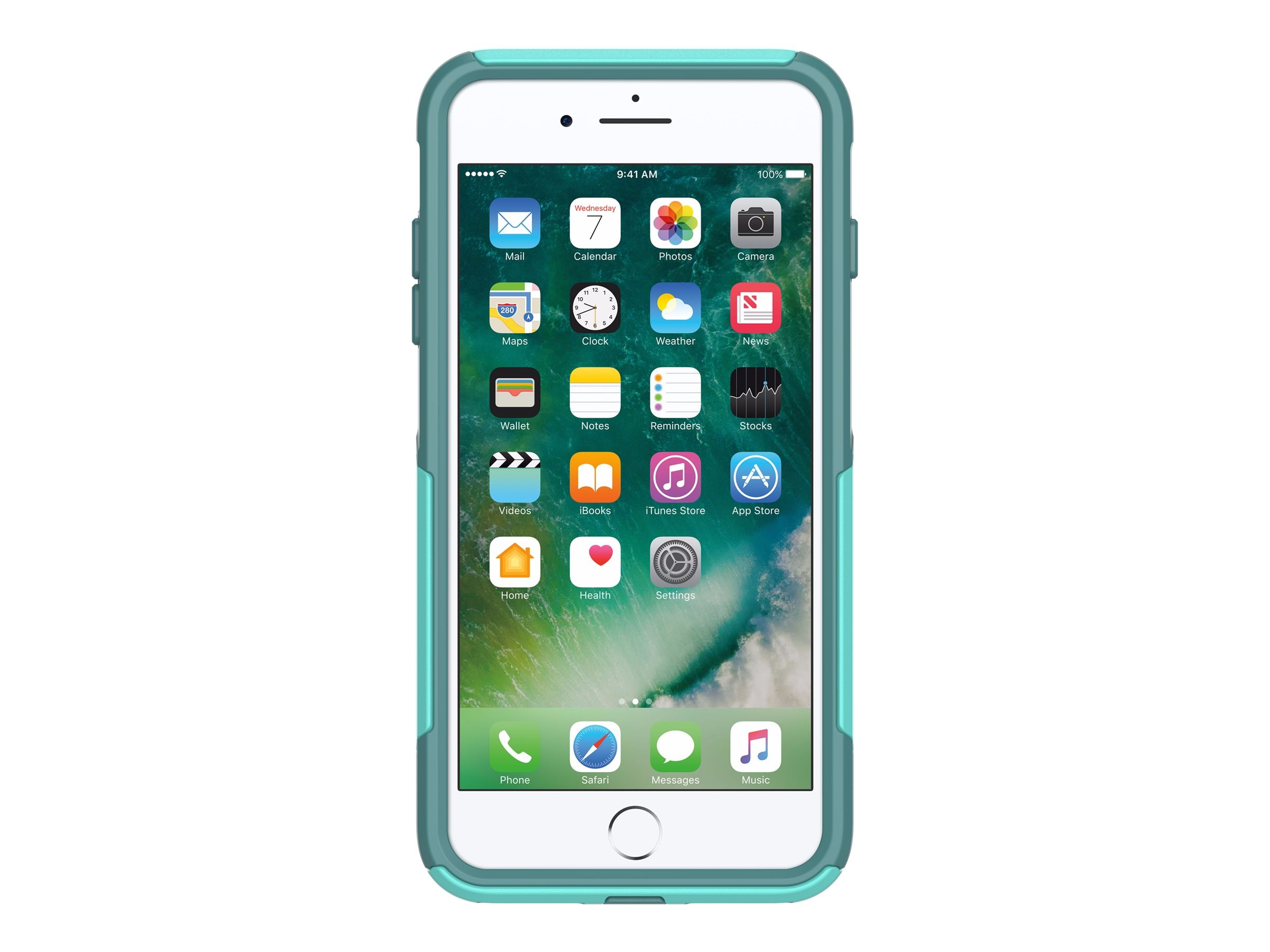 OtterBox Commuter Case for iPhone 7 Plus, Aqua Mint