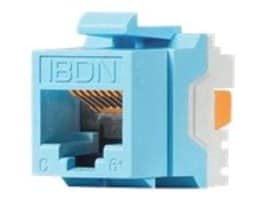 Belden Cat6+ Modular Jack, RJ-45, KeyConnect Style, Electrical White, AX101320, 16732038, Cable Accessories