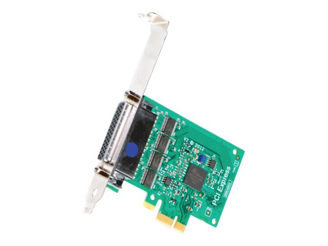 Brainboxes Intashield PCIe 4 x RS232 Serial Card
