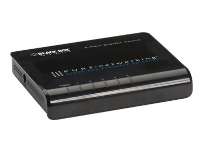Black Box Pure Networking 5-Port GbE Switch
