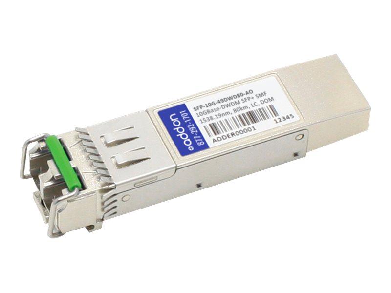 ACP-EP SFP+ 80KM DWDM LC XCVR TAA XCVR 10-GIG DWDM DOM LC Transceiver for Alcatel