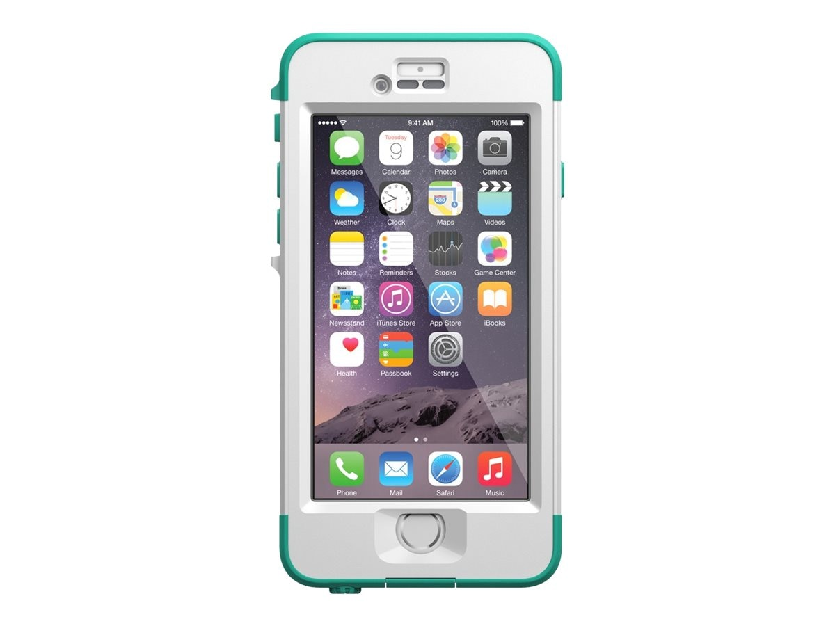 Lifeproof Nuud V2 for iPhone 6, Riptide Teal, 77-51285, 23208306, Carrying Cases - Phones/PDAs