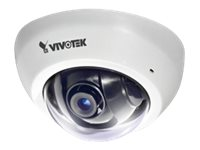 Vivotek 2MP Ultra-Mini Fixed Dome Network Camera with 2.8mm Lens, White