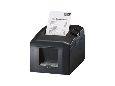Star Micronics TSP651D-24 GRY, THERMAL, PRINTER, 2 COLOR, TEAR BAR, SERIAL, GRAY, TSP651D-24 GRY, 9301053, Printers - POS Receipt