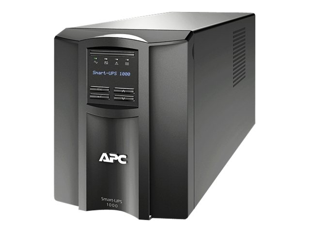 APC Smart UPS 1000VA LCD Int'l 230V C14 Input (8) C13 Outlets Serial USB Smartslot, SMT1000I, 11847063, Battery Backup/UPS
