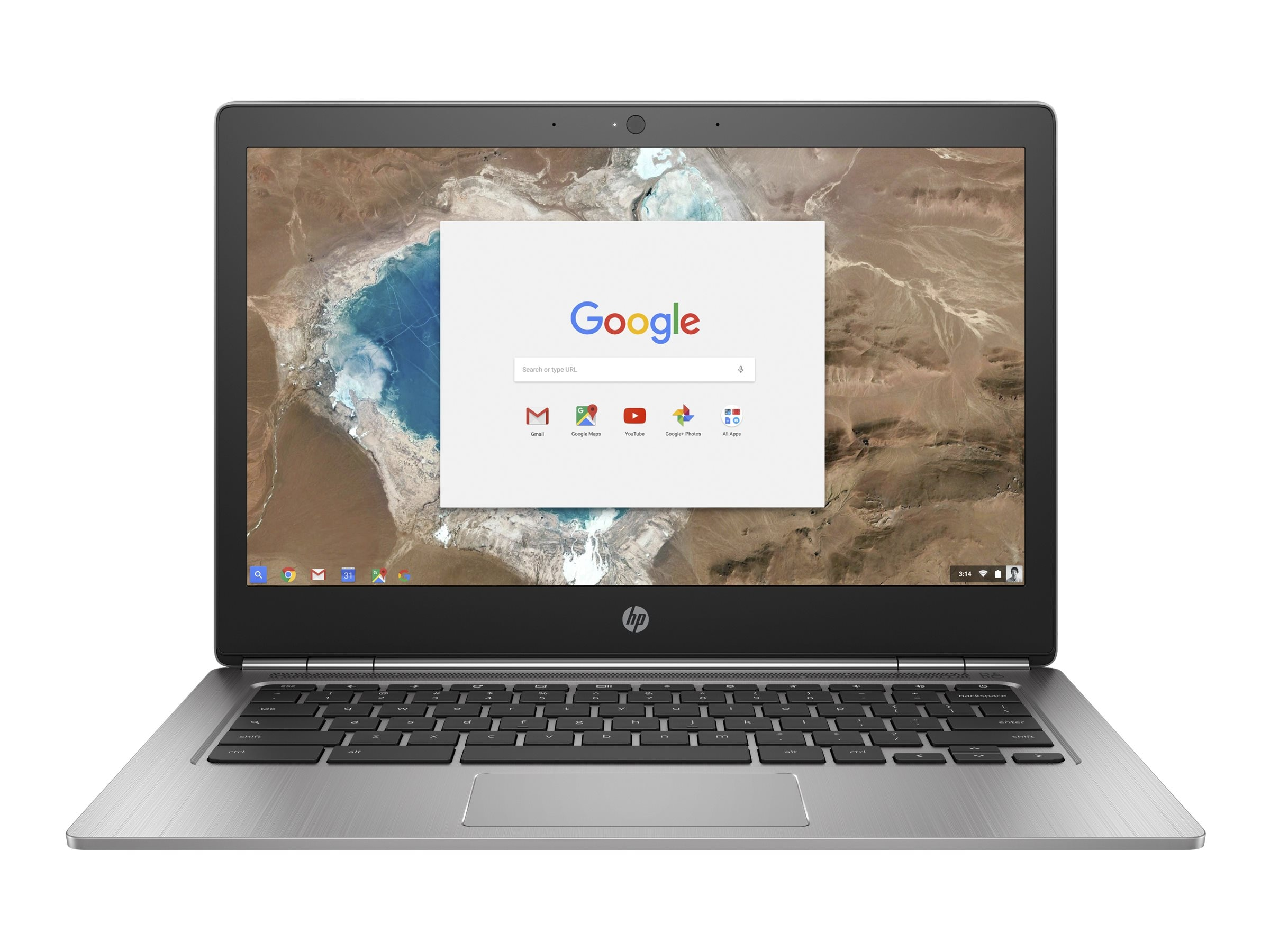 HP Chromebook 13 G1 1.2GHz Core m7 13.3in display, W0T02UT#ABA