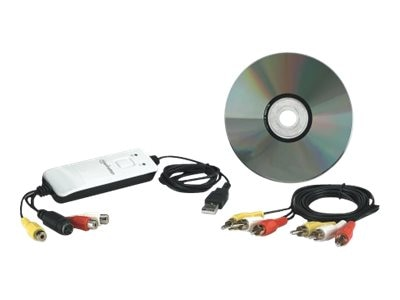 Manhattan USB Audio Video Grabber