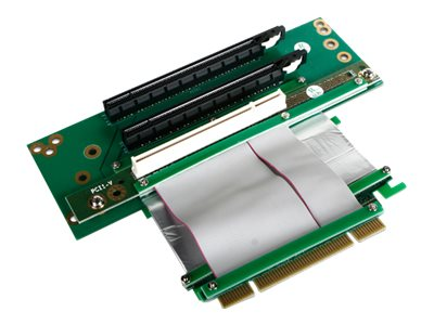 iStarUSA Riser Card with (2x) PCIe x16 and (1x) PCI for 643 Only