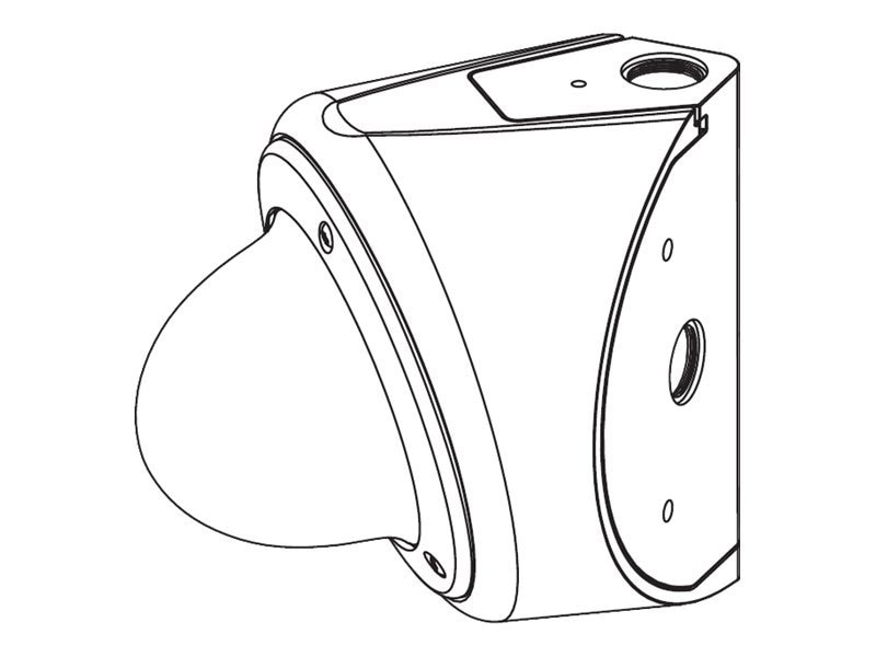 Bosch Security Systems Outdoor Corner Mount, White