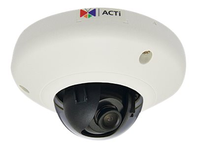 Acti 3MP Indoor Mini Dome with Superior WDR, Fixed Lens, E913