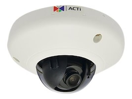 Acti 3MP Indoor Mini Dome with Superior WDR, Fixed Lens, E913, 19911672, Cameras - Security