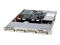 Supermicro 1U RackMount Chassis w  500W Cold-swap Power Supply, CSE-813I+-500B, 6466397, Hard Drive Enclosures - Multiple