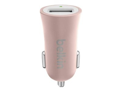 Belkin MIXIT Metallic Car Charger, Rose Gold, F8M730BTC00