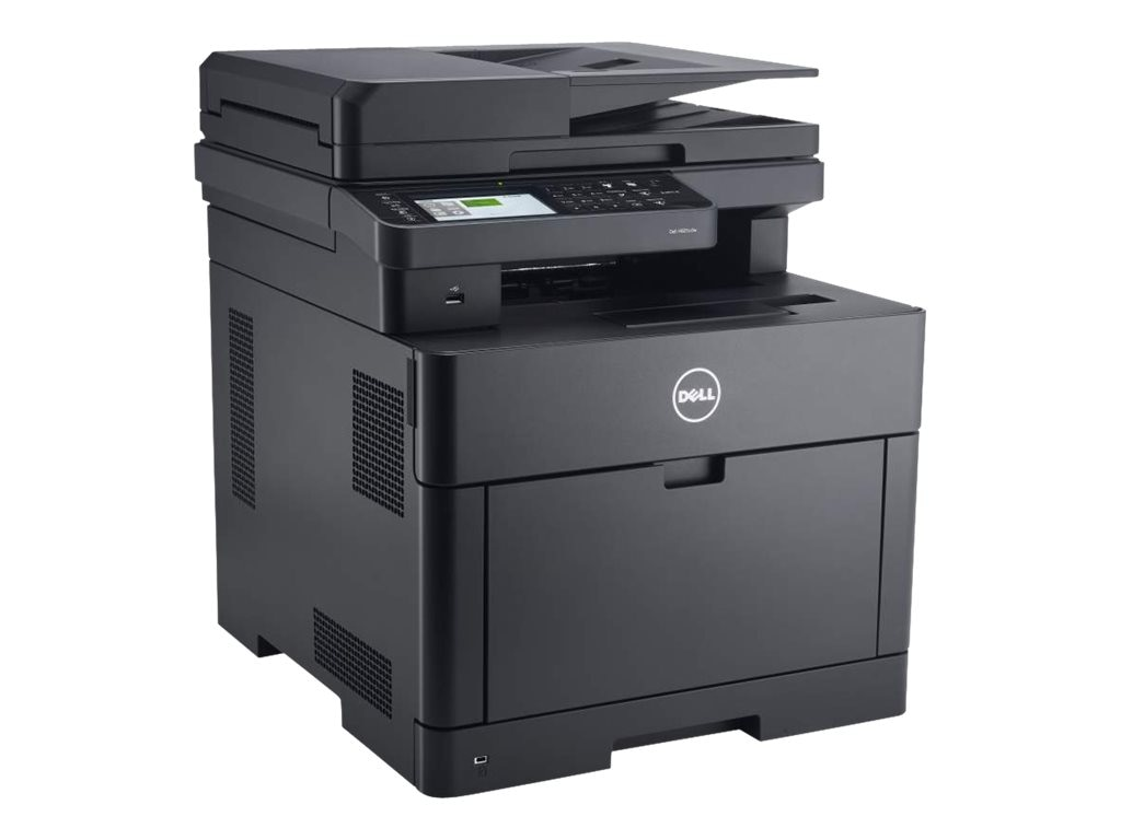 Dell Color Cloud Multifinction Printer - H825cdw, P6M9H, 30833134, MultiFunction - Laser (color)