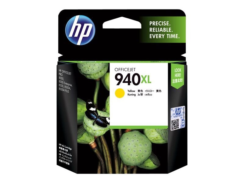 HP 940XL (C4909AN) High Yield Yellow Original Ink Cartridge